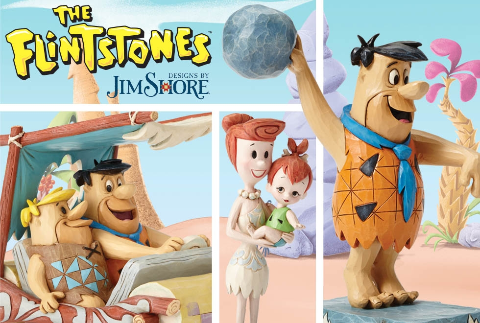 We yabba-dabba-doo love The Flintstones collection by Jim Shore,