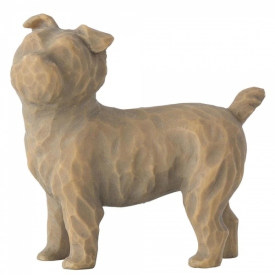 Willow Tree - Love my Dog small standing up - Figurine