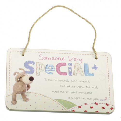 Boofle - Wooden Hanging Plaque - Someone Very Special