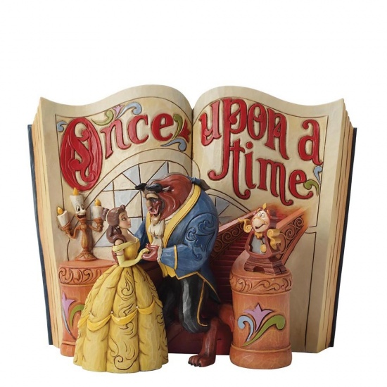 Disney Traditions - Love Endures Storybook Beauty & The Beast Figurine