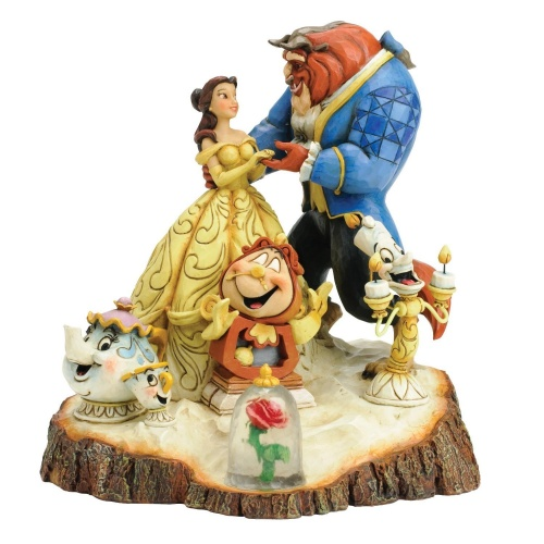 Disney Traditions - Tale as Old as Time Beauty and The Beast Figurine