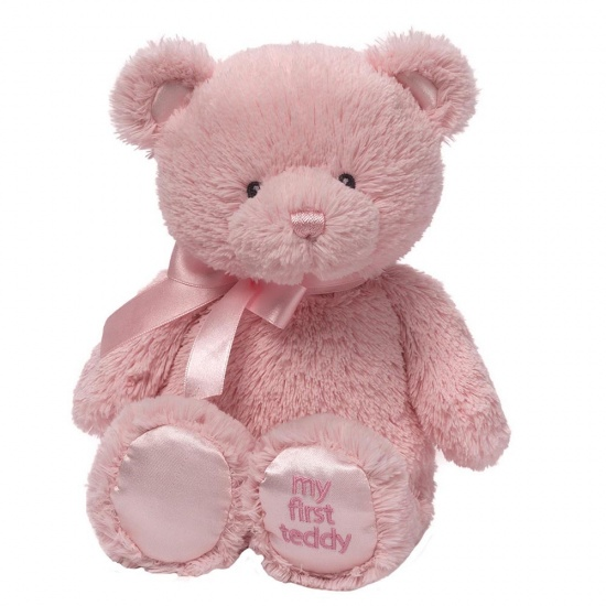 Baby Gund - My First Teddy Pink - Baby Girl Gift
