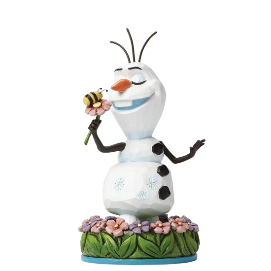 Disney Traditions - Dreaming of Summer - Olaf with Flower - Disney Frozen
