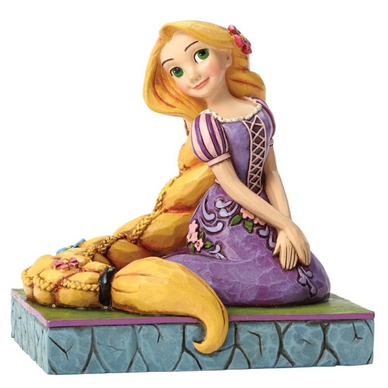 Disney Traditions - ''Be Creative'' Rapunzel Figurine