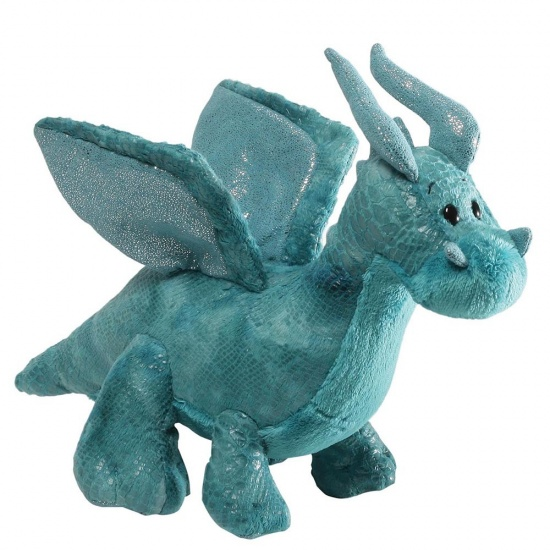 Gund - Rubble Teal Dragon soft toy