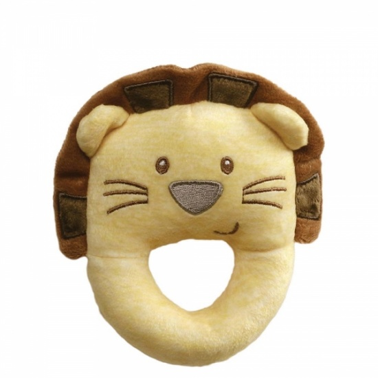 Gund Baby Ring Lion Rattle