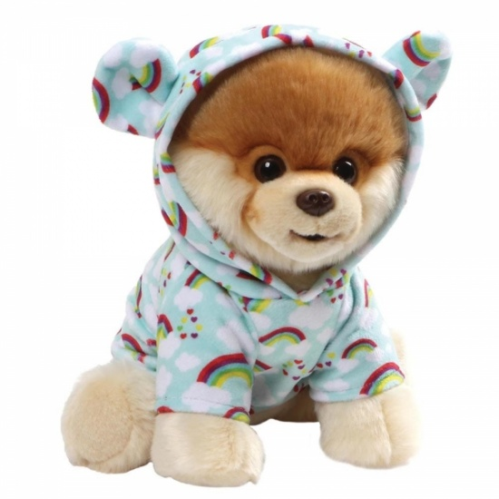 GUND Boo - Large Rainbow Boo The Worlds Cutest Dog - Soft Toy