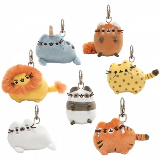 Pusheen Cat Surprise Plush Keyring Mystery Box Series 7 Pusheenimals