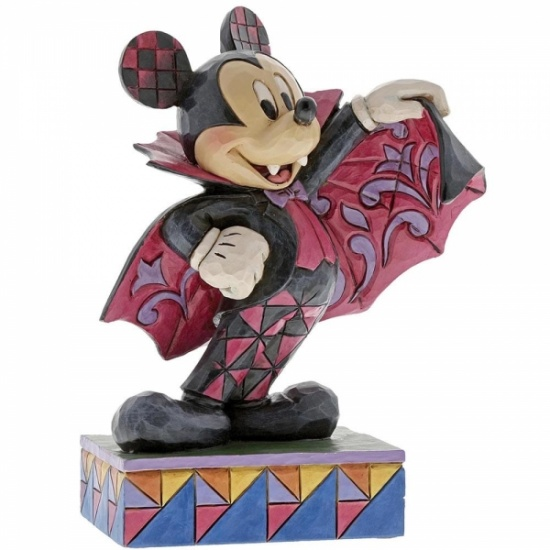 Disney Traditions Colourful Count Mickey Mouse Figurine