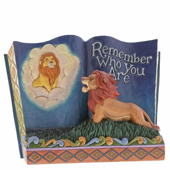 Disney Traditions - Remember Who You Are Storybook The Lion King Figurine