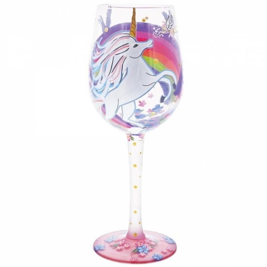 Lolita Unicorn Wine Glass - Gift Boxed