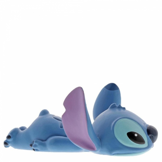 Stitch Laying Down Figurine - Disney Showcase