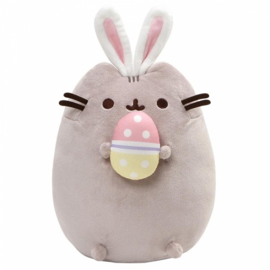 Pusheen Easter Bunny Snackable With Egg Large 25cm Plush