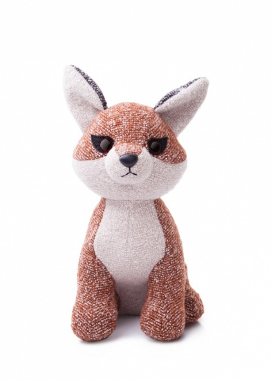 Fabbies 8'' Felix Fox Plush Soft Toy
