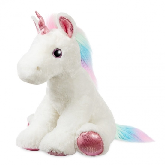 Marshmallow Jumbo 22'' Sparkle Tales Unicorn Soft Toy Teddy
