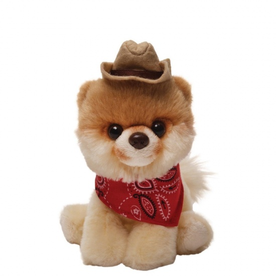 GUND Itty Bitty Boo - Dressed as A Cowboy - The Worlds Cutest Dog - Soft Toy