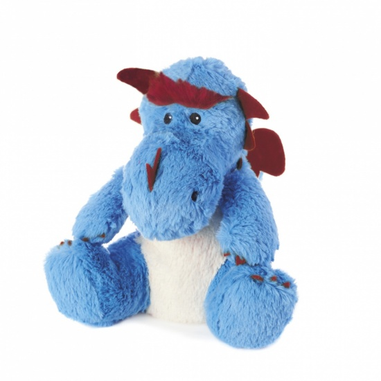 Warmies Cozy Plush Blue Dragon - Microwavable / Heatable Plush Toy x