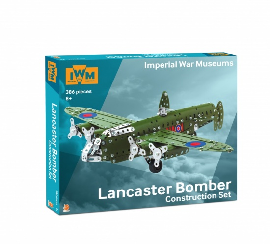 Imperial War Museums Lancaster Bomber all-inclusive construction Steel Model Kit