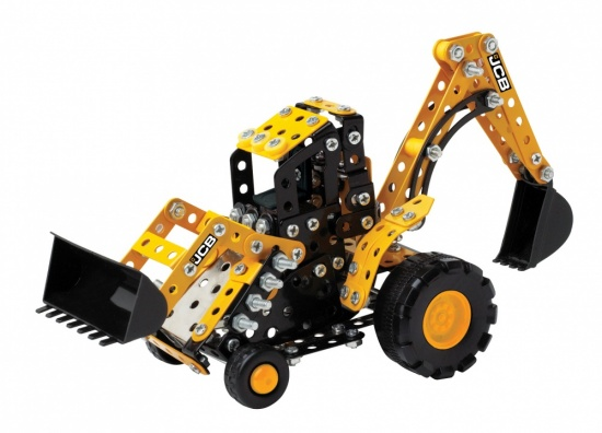 JCB Backhoe Loader GT all-inclusive construction Model Kit