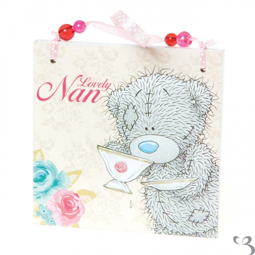 Me to You - Tatty Teddy - Lovely Nan Plaque