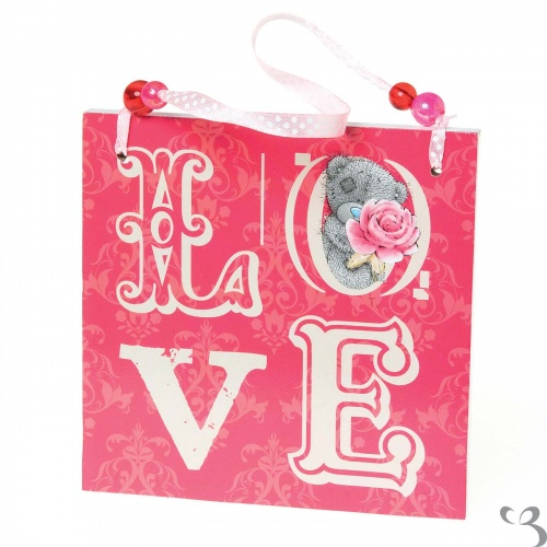 Me to You - Tatty Teddy - Love Plaque