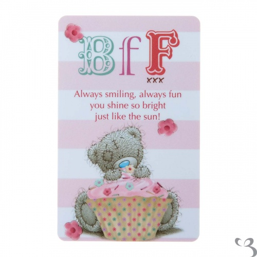 Me To You - BFF Friendship Card (Best friends Forever)