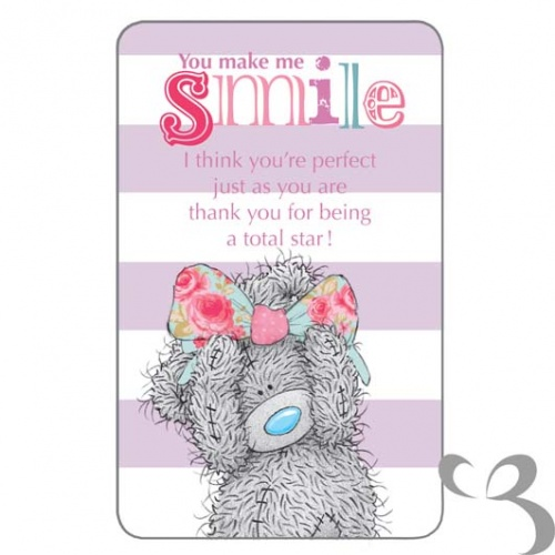 Me To You - You Make Me Smile Friendship Card