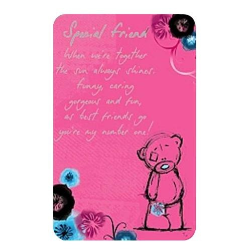 Me To You - Tatty Teddy Special Friend Friendship Card