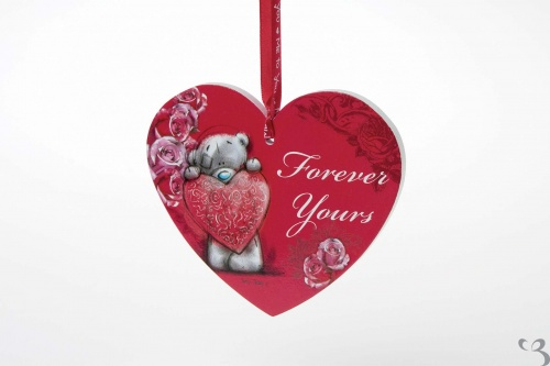Me to You - Forever Yours Hanging Heart Plaque