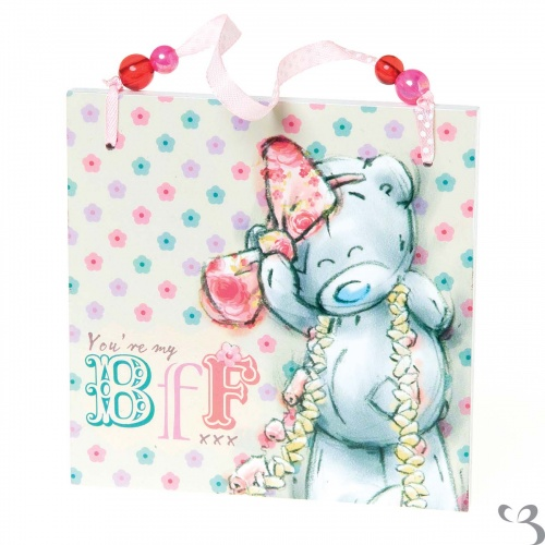 Me to You - Tatty Teddy - BFF Plaque - Best Friends Forever