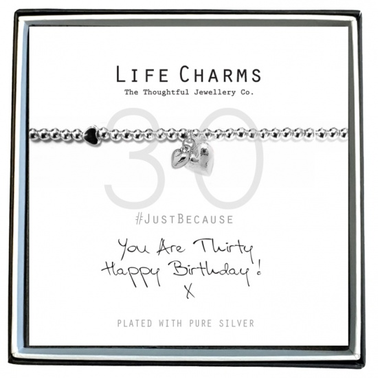 You Are 18 - Silver Plated Bracelet - Life Charms