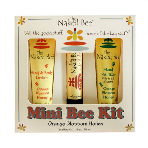 The Naked Bee - Orange Blossom Mini Bee Travel Kit