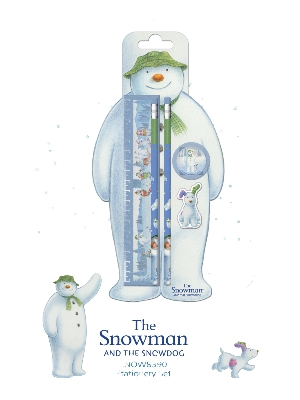 The Snowman and The Snowdog Stationery Set