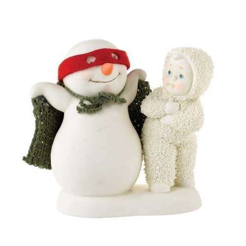 Snowbabies - You're My Super Man Figurine