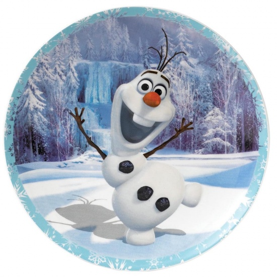 Frozen Enchanting Disney Olaf Warm Hugs Wall Plate