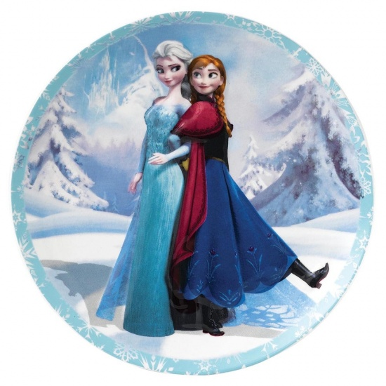Frozen Enchanting Disney Sisterly Bond - Anna & Elsa Wall Plate
