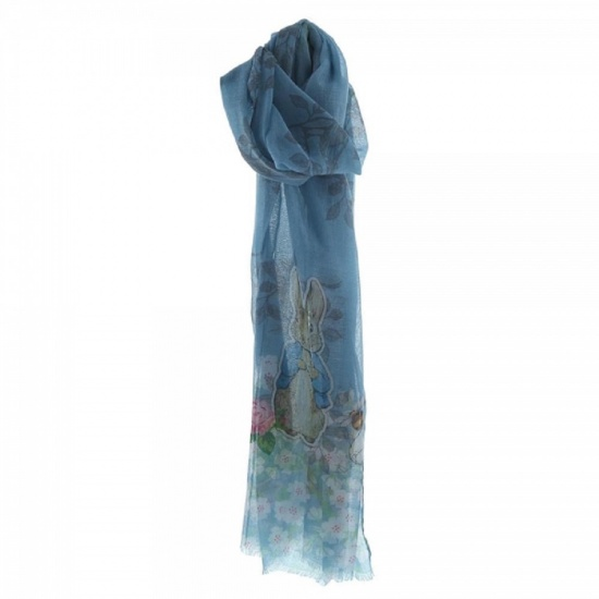 Beatrix Potter Peter Rabbit Blue Scarf