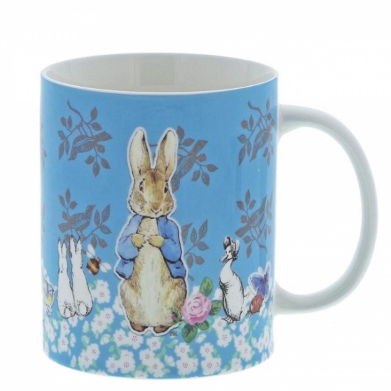 Beatrix Potter Peter Rabbit Ceramic Coffee Mug Cup - Gift Boxed