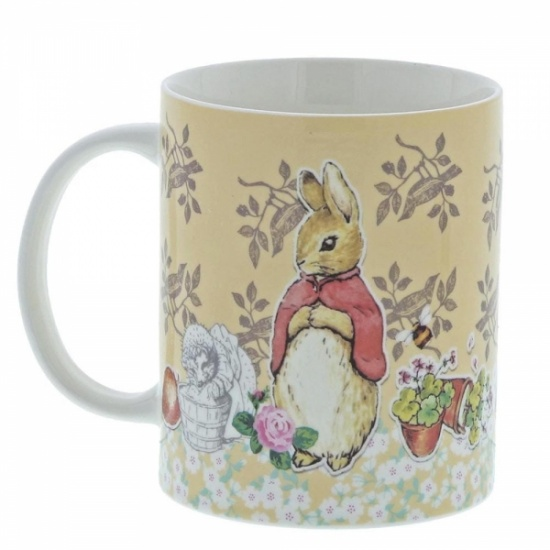 Beatrix Potter Flopsy Ceramic Coffee Mug Cup - Gift Boxed