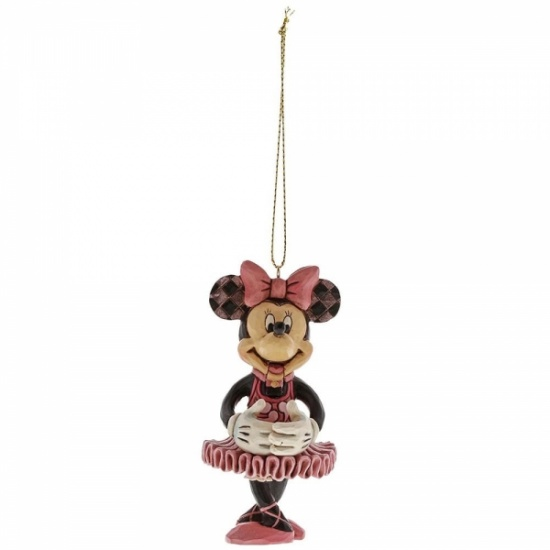 Disney Traditions Christmas - Minnie Mouse Nutcracker Hanging Ornament