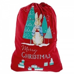 Beatrix Potter Red Peter Rabbit Christmas Sack