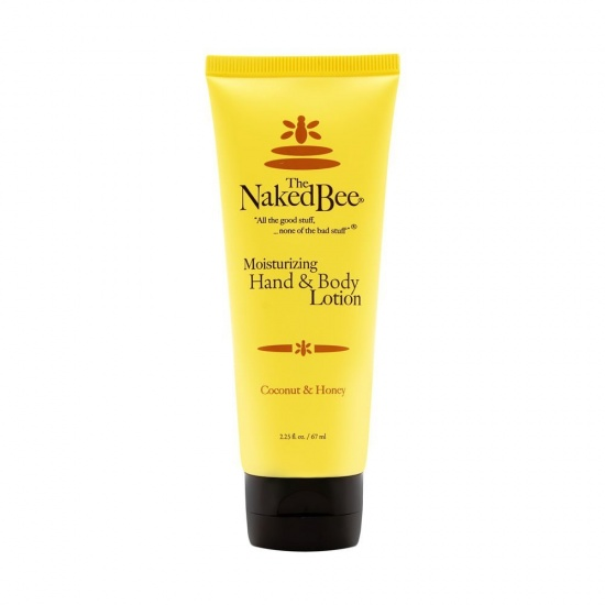 Naked Bee Coconut and Honey Moisturising Hand & Body Lotion - 67ml