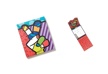 Disney by Britto - Peace and Love Mickey Mouse Notepad