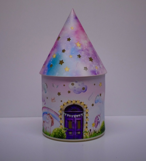 Fairy House - Pinkleberry Stardust LED Light up decoration - Unicorn.