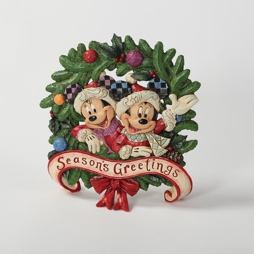 Disney Traditions Christmas Mickey And Minnie Seasons Greetings