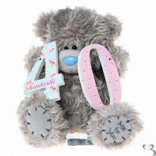 Me To You - 7'' 40th Birthday Tatty Teddy Bear