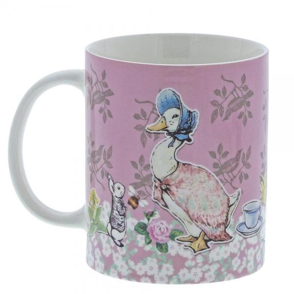 Beatrix Potter Jemima Puddle Duck Ceramic Coffee Mug Cup