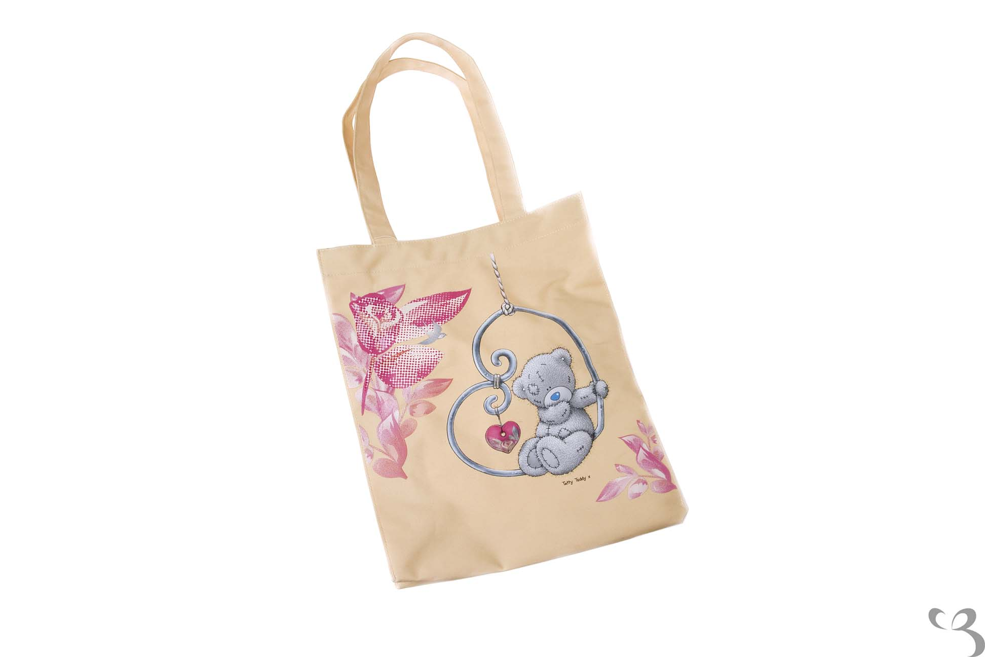 me to you tatty teddy light pink tote cotton shopping bag. Black Bedroom Furniture Sets. Home Design Ideas