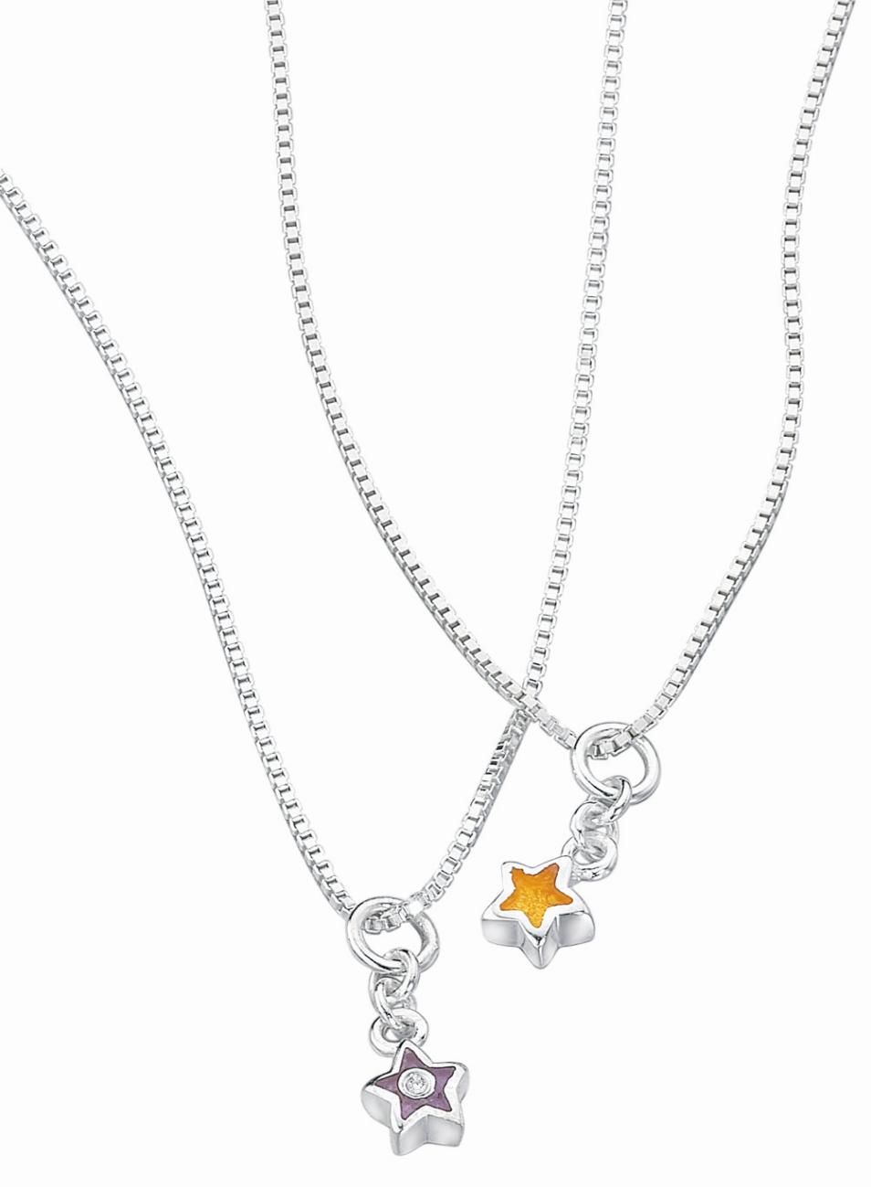 Silver d for diamond resin star pendant necklace threelittlebears silver d for diamond resin star pendant necklace aloadofball Images