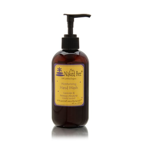 The Naked Bee Lavender & Beeswax Absolute Moisturizing Hand Wash 8.0 oz